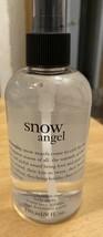 NEW Philosophy SNOW ANGEL Body Spritz 8 Oz. Spray Pump Sweetly Fallen Snow - $28.04