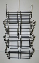 Safco 4151CH Panel Mate Triple File Baskets Charcoal Metal - $57.98