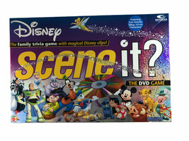 Mattel Disney Scene It? The DVD Game Pieces and Board-NO DVD - $12.86