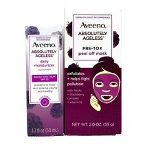 Aveeno Absolutely Ageless Blackberry Daily Moisturizer AND Pre-Tox Peel Off Mask - $15.88