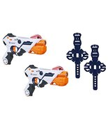 AlphaPoint Nerf Laser Ops Pro Toy Blasters - Includes 2 Blasters & 2 Arm... - $37.95