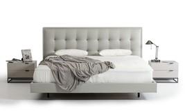 Modrest Hera Modern Grey Leatherette Bed - £1,002.27 GBP