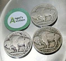 Buffalo Nickel 1924, 1924 and 1924 D AA20BN-CN6082 image 3