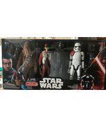 Star Wars Force Awakens 12 Figure Box Set 6 Target Excl kylo ren finn poe chewy - $19.99