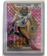 2020 Mosaic Troy Polamalu Hall of Fame Pink Prizm Pittsburgh  Steelers - $12.19