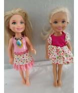 """Barbie Friends Mattel Chelsea cute doll lot of (2) 5"""" dolls - $9.85"""