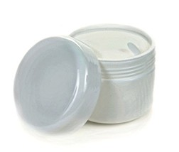 Vivaplex, 24, White, 2 oz Cosmetic Jars, with Liners and Dome Lids - $17.16
