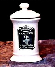 Lord Buckley's Earl Grey Tea Pottery Canister AA18-1213