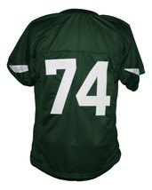 #74 Crusaders The Blind Side Movie Michael Oher Football Jersey Green Any Size image 2