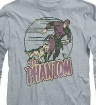 The Phantom t-shirt retro comics strip long sleeve graphic tee WSF180 image 3