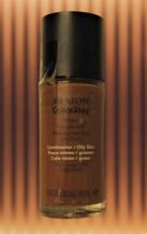 REVLON ColorStay Foundation COMBINATION/OILY SKIN 410 Cappuccino Older V... - $12.82