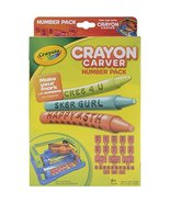 Crayola Crayon Carver, Numbers Expansion Pack, Gift for Kids, Ages 6+ - $14.95