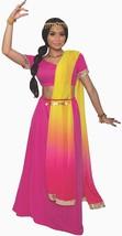 Sunrise Princess Desert Arabian Harem Girl Fancy Dress Halloween Adult C... - £31.22 GBP