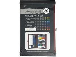 Master's Touch Fine Art Studio Acrylic Paint Set, Includes 20 Pieces #314781