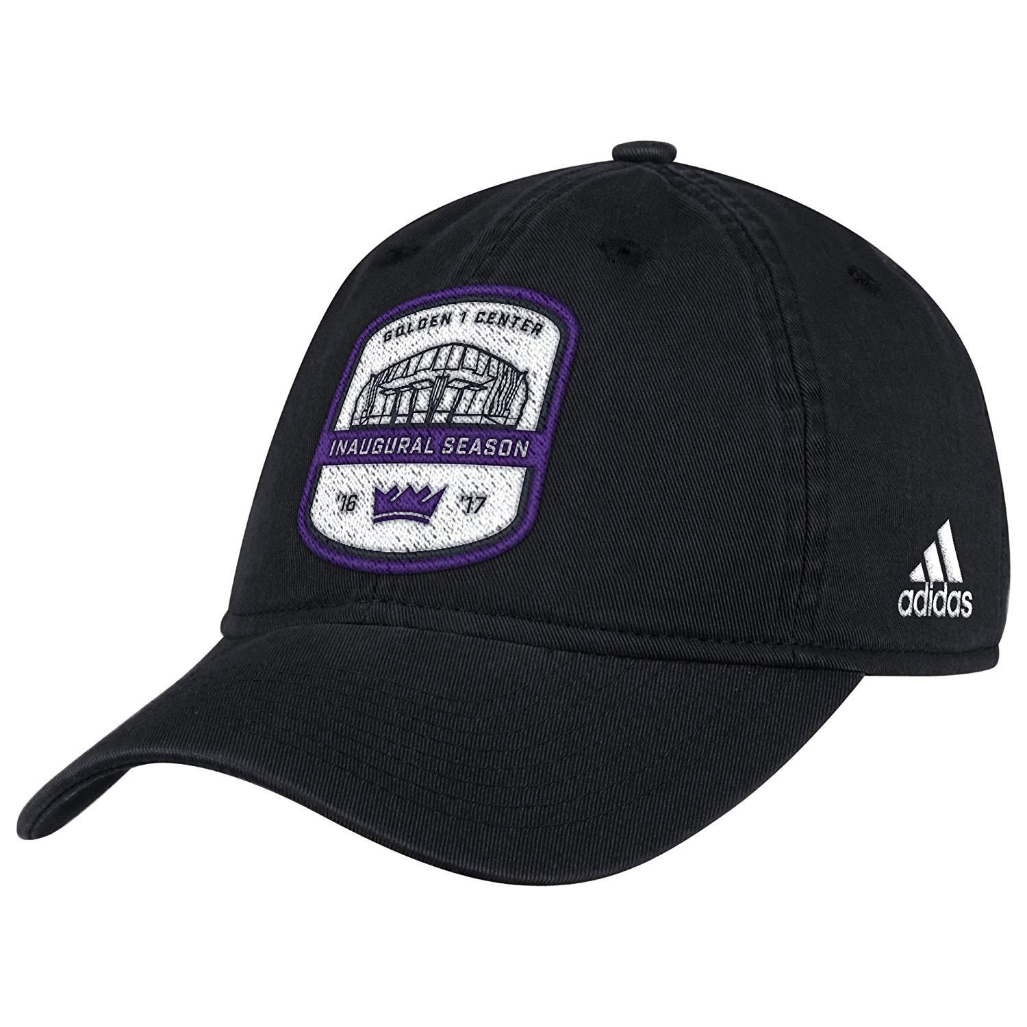 NWT NBA Sacramento Kings Men's One Size Black NBA Anniversary Slouch Hat