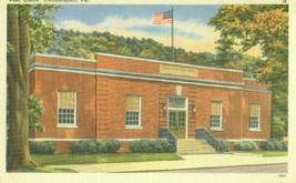 Post Office, Coudersport, Pa. - $6.95