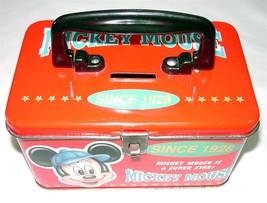 Disney's Mickey Mouse Tin Box by Ellon - $8.00