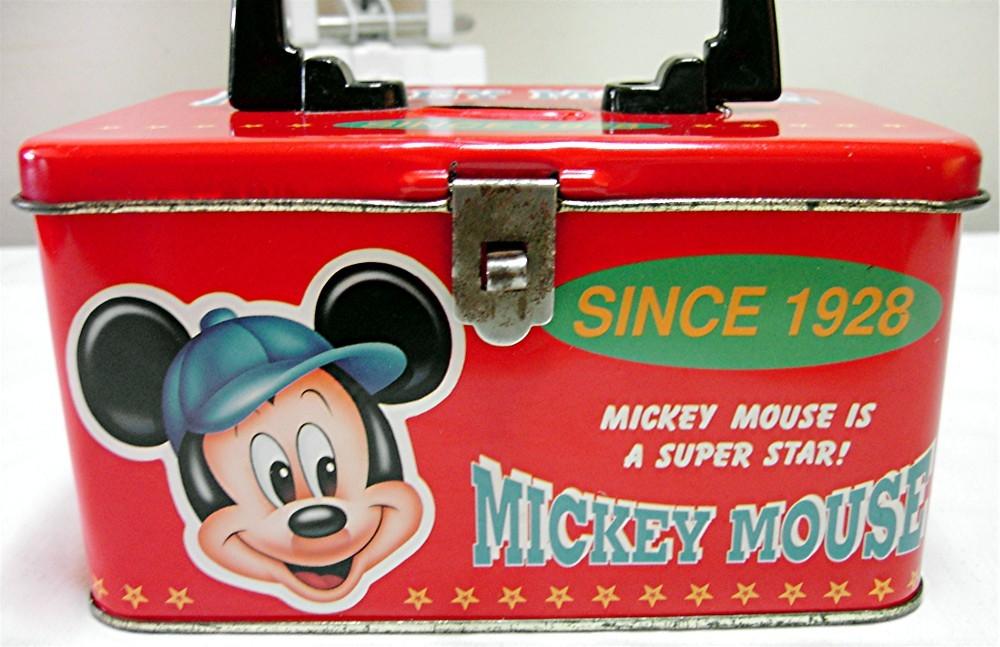 Disney's Mickey Mouse Tin Box by Ellon