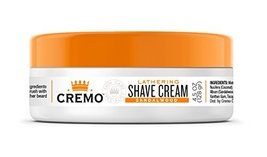 Cremo Lathering Shave Cream, Specially Formulated for Use With a Brush for a Lux image 2