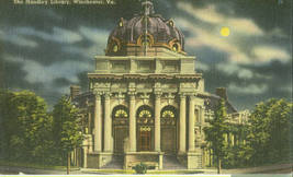 The Handley Library, Winchester, Va. - $6.95