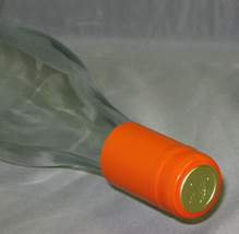 Orange PVC Shrink Capsules For Wine Bottles - 30 - $5.89