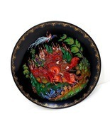 Russian folklore & fairytales TWO Bradex collectors plates, great cond, colorful - $75.00