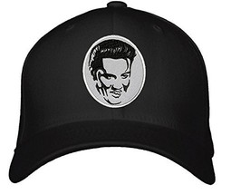 Elvis Presley Hat - Adjustable Mens Black/Grey - The King Graceland Cap - $15.79