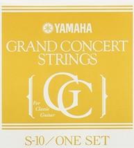 Yamaha / High-quality Classical Guitar String Grand Concert S10 [1 Set] - $22.28