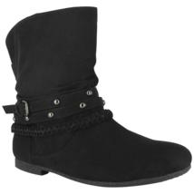 Dolce Womens Jojo Ankle Boot Black Size 7 #NJZVG-607 - $39.99