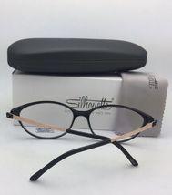 New SILHOUETTE Eyeglasses SPX 1578 75 9020 56-16 135 Black & Bronze Frames image 4