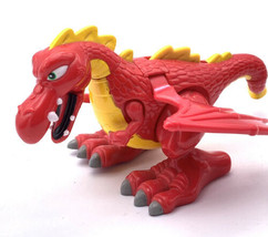 Fisher Price Great Adventures Red Magic Castle Dragon 1999 - $19.80