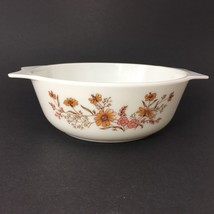 JAJ Pyrex Country Autumn Casserole Dish Made In England Woodland Old Vintage - $14.80
