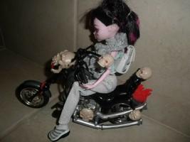 Toy Skull Motorcycle - Hollywood Hogan + Monster High Doll - $12.86