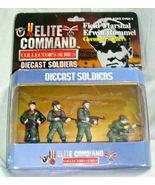 Elite Command Die cast Collector's Series German Soldiers Set of 4 Mint ... - $8.06