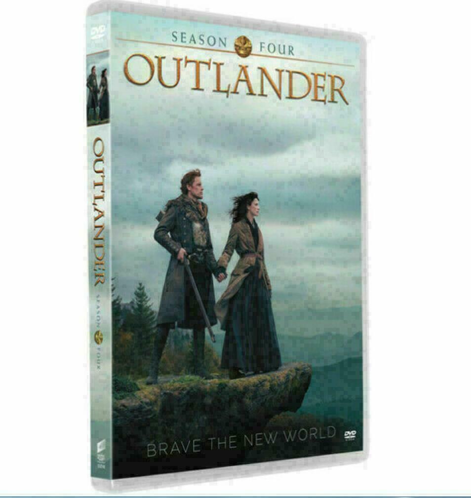 Outlander Complete Fourth Season Four 4 (DVD, 3-Disc Set New)
