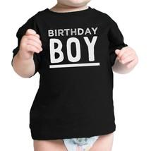 Birthday Boy Baby Black T-Shirt - $14.99