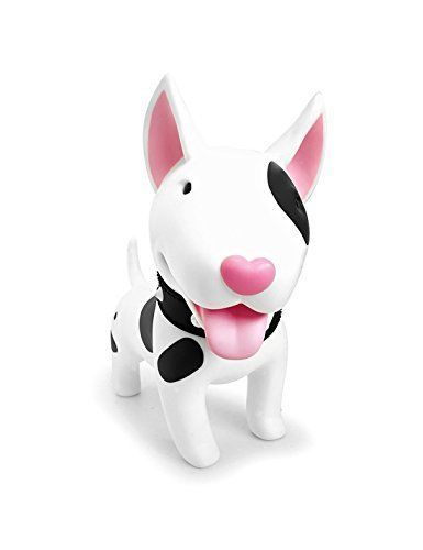 Cute Dog Piggy Bank Bull Terrier Toy Coin Decorative Saving Adorable Figurine by
