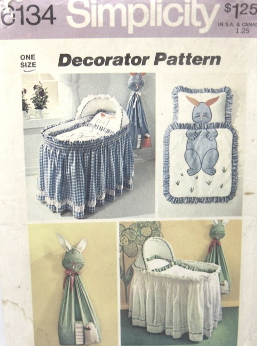 Bassinet Skirt Pattern 61