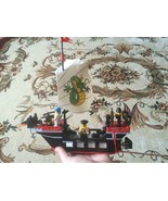 Building Blocks of ancient Barbara super boat team action Toy Gift Pirates - $32.54