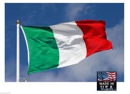 0,9x1,5m Italia Resistente en / Exterior Super-Poly Bandera Fabricado EEUU - $14.92