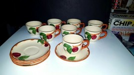 14 Piece Franciscan Earthenware APPLE Older USA Backstamp ~ 9 Cups, 5 Sa... - $23.76