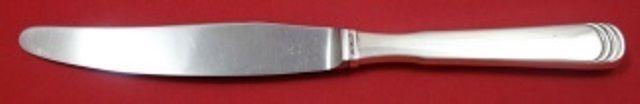 Ripple aka Arvesolv #15 by Hans Hansen Danish Sterling Silver Dinner Knife Short