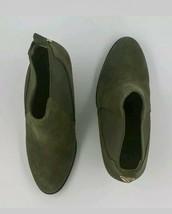 MICHAEL KORS Jillian Olive Suede Booties- size 7 - £77.63 GBP