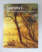 Sotheby's NY American Paintings, Drawings & Sculpture Catalog May 23, 2007 - $14.52
