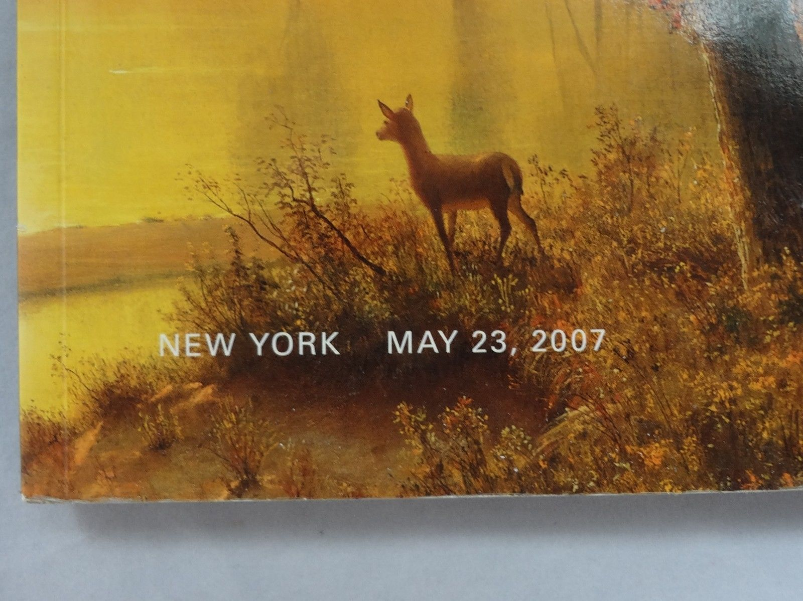 Sotheby's NY American Paintings, Drawings & Sculpture Catalog May 23, 2007