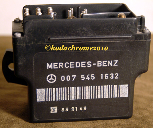 Mercedes benz glow plug relay 350sd 350sdl 6 cyl diesel for Mercedes benz glow plugs