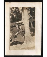 Women Gay Interest Ring for two in the sun under Tree Antique Photo - $18.99