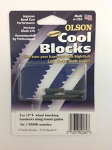 "Olson Cool Blocks Band Saw Guides, CB50080 Round for 10"" 3-Wheel Benchto... - $16.99"