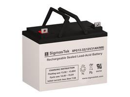 Dual-Lite 12760 Replacement Battery By SigmasTek - GEL 12V 32AH NB - $79.19