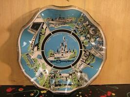 Walt Disney World Florida Magic Kingdom Monorail and Steamboat Glass Ash... - $14.25